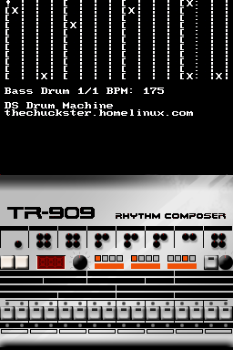 Thumbnail 1 for DS Drum Machine (TR-909)